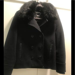 Top Shop Black Coat